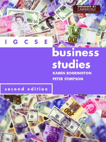 9780719572685: IGCSE Business Studies