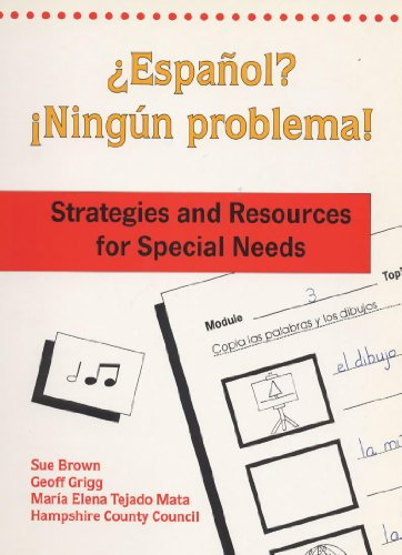 9780719573644: Espanol? Ningun Problema!: Teacher Resource Book: Strategies and Resources for Special Needs