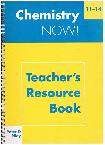 9780719575471: Chemistry Now! 11-14: Teacher's Resource Book