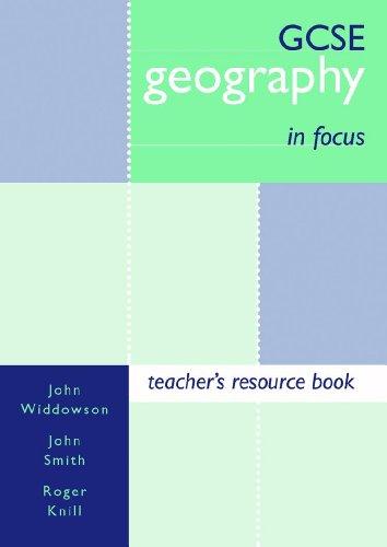 9780719575594: GCSE Geography in Focus: Teachers' Book