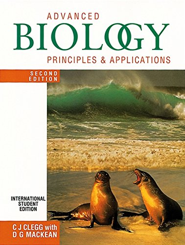 9780719576706: Advanced Biology: Principles and Applications Second Edition