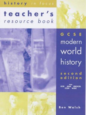 9780719577147: Gcse Modern World History: Teacher's Resource Book