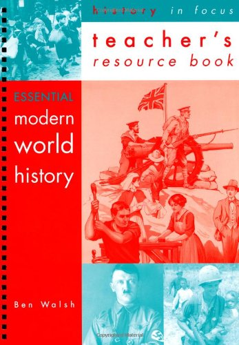 9780719577161: Essential Modern World History Teachers' Book (History In Focus)