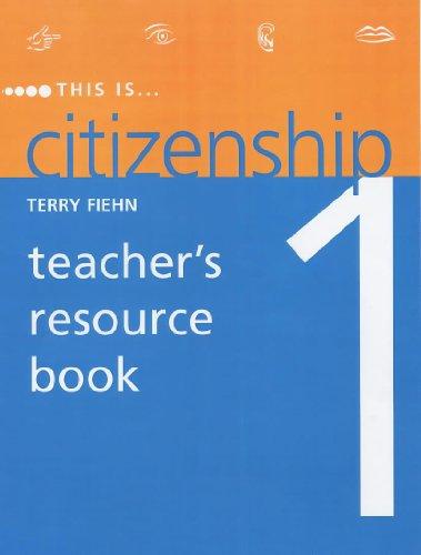 9780719577208: This Is Citizenship 1: Teacher's Resource Book (Bk. 1)