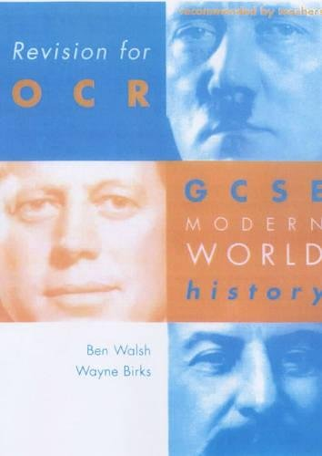 9780719577406: Revision for Ocr: Gcse Modern World History (Revision for History)