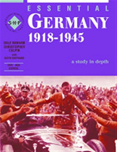 9780719577536: Germany 1918-1945: Student's Book (The Essential Series) (Essentials Series)