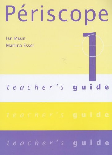 9780719578182: Periscope 1: Teacher's Guide (English and French Edition)