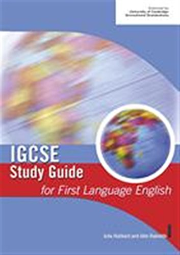 9780719579004: IGCSE Study Guide for First Language English (IGCSE Study Guides)
