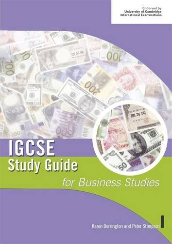 9780719579011: IGCSE Study Guide for Business Studies (IGCSE Study Guides)
