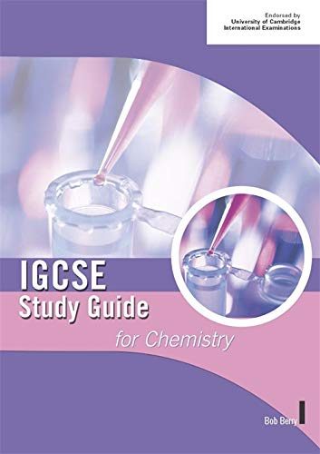 9780719579028: Cambridge IGCSE Study Guide for Chemistry (IGCSE Study Guides)