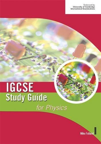 9780719579035: Cambridge IGCSE Study Guide for Physics (IGCSE Study Guides)