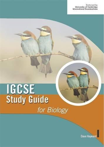 IGCSE Biology Study Guides: Dave Hayward