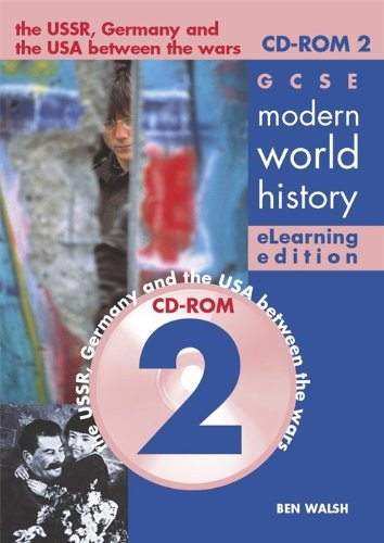 9780719579745: Gcse Modern World History Elearning Edition: The USSR, Germany and the USA Between the Wars