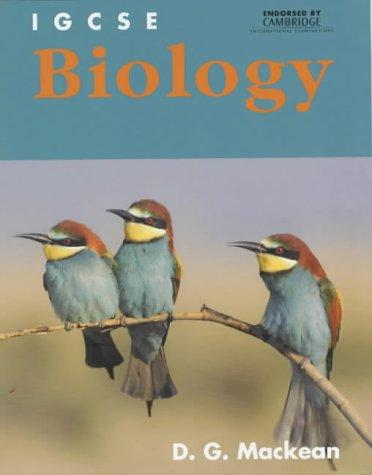 9780719580536: IGCSE Biology