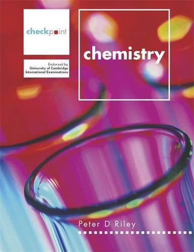 9780719580659: Checkpoint Chemistry (Checkpoint Science)
