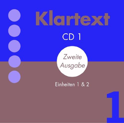 9780719581007: Klartext Zweite Ausgabe: Pt. 1