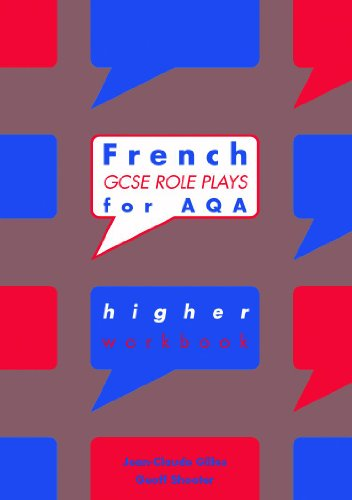 9780719581465: French GCSE Role Plays for AQA Higher Workbook Pack of 10