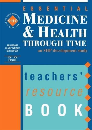 9780719585388: Medicine and Health Through Time: Teacher's Resource Book (Essentials Series)
