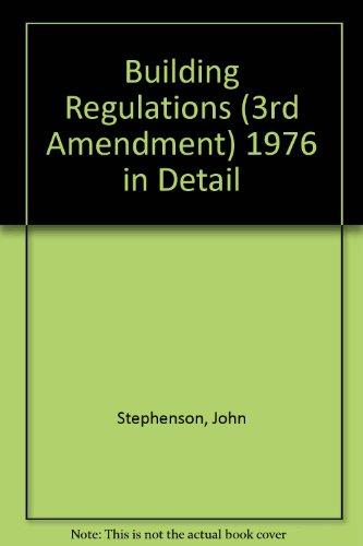 9780719826306: Building Regulations (3rd Amendment) 1976 in Detail