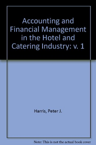 9780719826429: Accounting and Financial Management in the Hotel and Catering Industry: v. 1