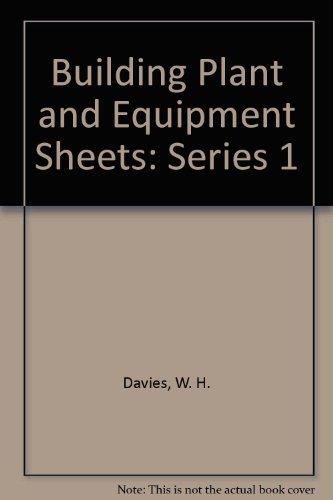 9780719827402: Building Plant and Equipment Sheets: Series 1