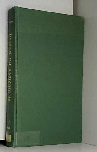 Index Islamicus. Third Supplement 1966 - 1970.: Pearson, J. D.
