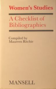 9780720109184: Women's Studies: A Checklist of Bibliographies