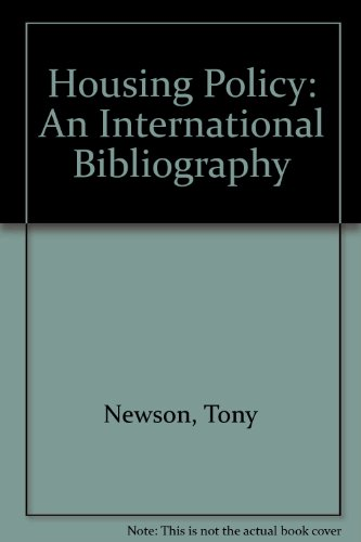 Housing Policy : An International Bibliography: Newson, T.