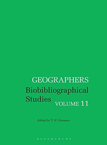 9780720118971: Geographers