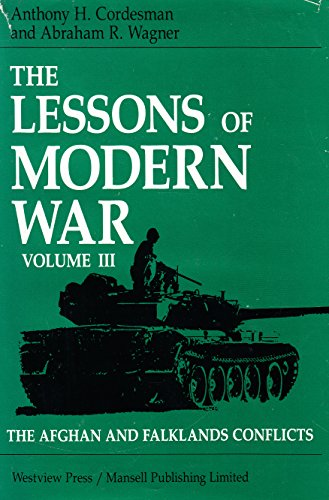 Lessons of Modern War: The Afghan and: Cordesman, Anthony H.