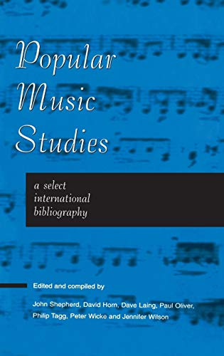 9780720123449: Popular Music Studies: A Select International Bibliography