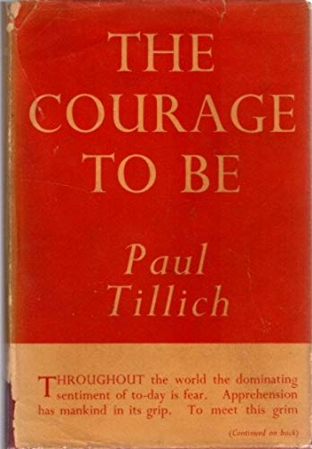 9780720202281: Courage to be, The