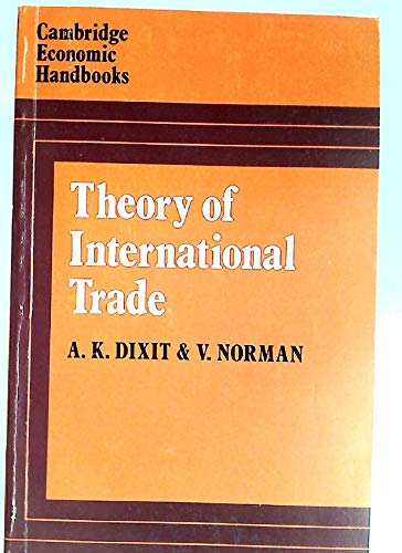 Theory of International Trade (Cambridge Economic Handbooks)