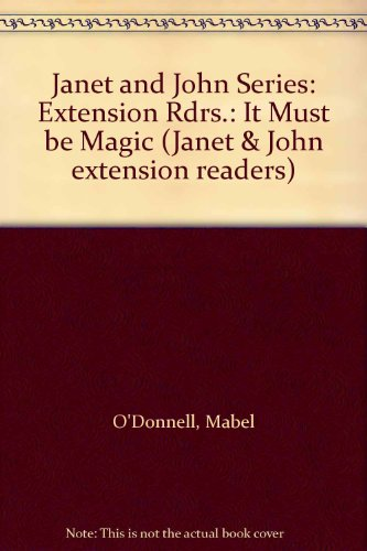 Janet and John Series: Extension Rdrs.: It: Frank Seely Saisbury,
