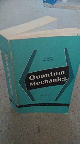 9780720400434: Quantum Mechanics: v. 2