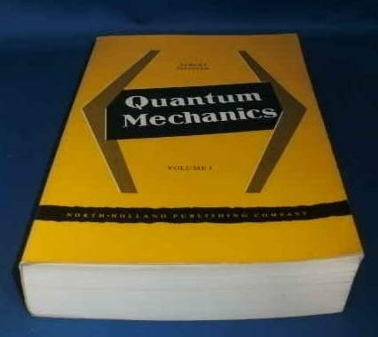 9780720400441: Quantum Mechanics : Volume I