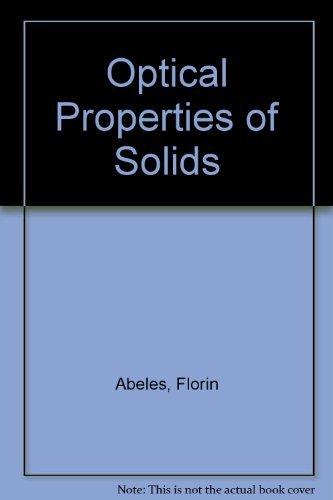 9780720402049: Optical Properties of Solids
