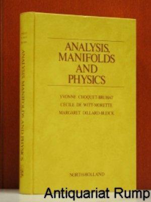 9780720404944: Analysis, Manifolds and Physics: Pt. 1