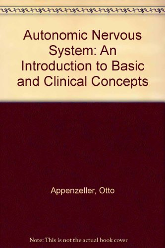 9780720406702: Autonomic Nervous System: An Introduction to Basic and Clinical Concepts