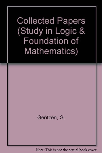 9780720422542: Collected Papers (Study in Logic & Foundation of Mathematics) (English and German Edition)