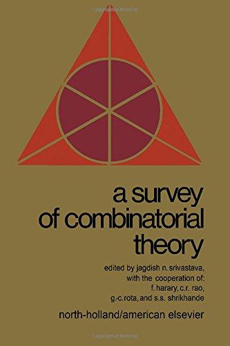 A Survey of Combinatorial Theory: Srivastava, Jagdish N., editor, et al