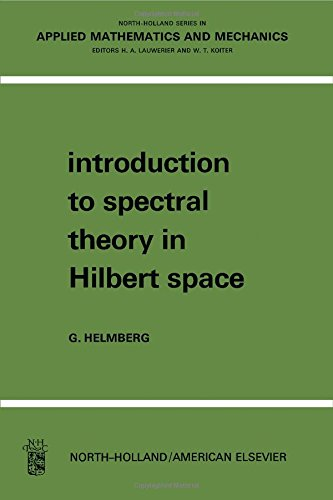 9780720423563: Introduction to Spectral Theory in Hilbert Space (North-Holland Series in Applied Mathematics & Mechanics)