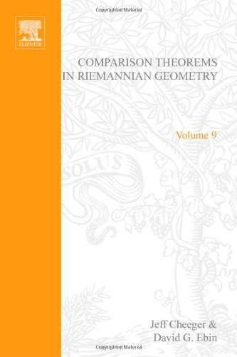9780720424614: Comparison Theorems in Riemannian Geometry, Volume 9: V9 (North-Holland Mathematical Library)