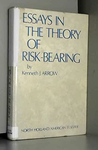 9780720430479: Essays in the theory of risk-bearing