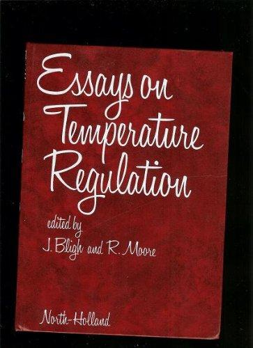 Essays on Temperature Regulation: J. Bligh; R. E. Moore (editors)