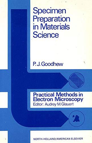 9780720442526: Specimen Preparation in Materials Science (Practical Methods in Electron Microscopy)