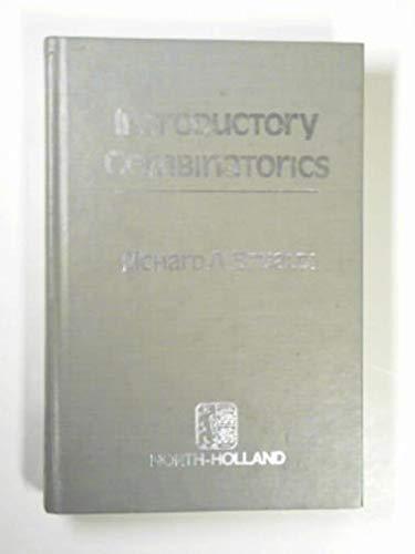 9780720486100: Introductory Combinatorics