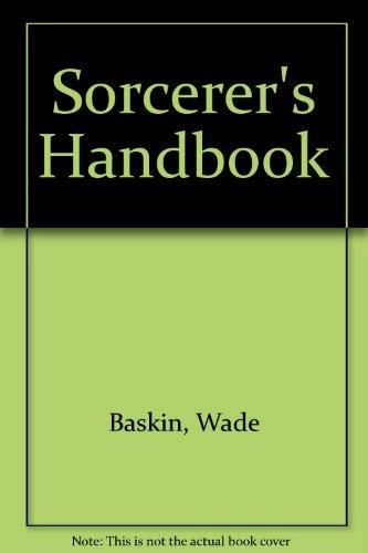 9780720601930: Sorcerer's Handbook