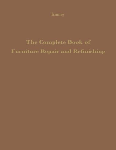 9780720603729: The Complete Book Of Furniture Repair And Refinishing