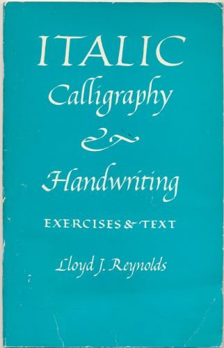9780720605631: ITALIC CALLIGRAPHY AND HANDWRITING: EXERCISES AND TEXT